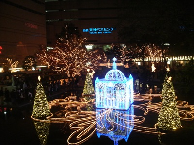 キラキラ☆クリスマスイルミネーション☆_e0188087_1527168.jpg
