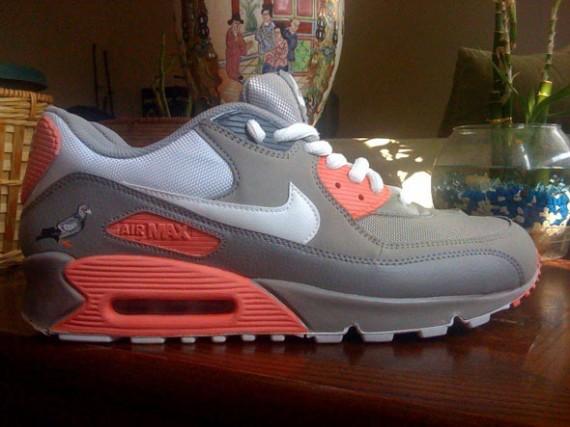 Nike Air Max 90 – Pigeon Customs_a0118453_19173080.jpg