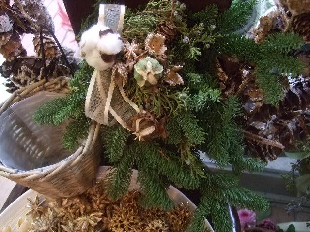 オークリーフ(今年のクリスマスリース)_f0049672_14395365.jpg