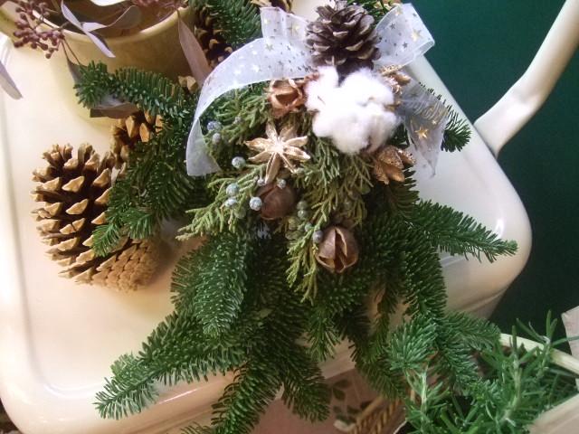 オークリーフ(今年のクリスマスリース)_f0049672_1440415.jpg