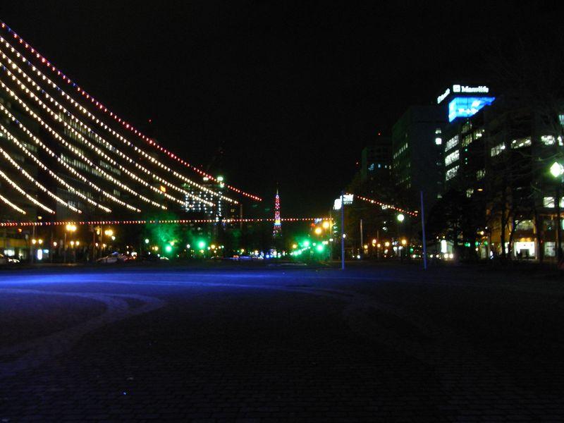 大通公園のイルミネーション_c0025115_20374262.jpg