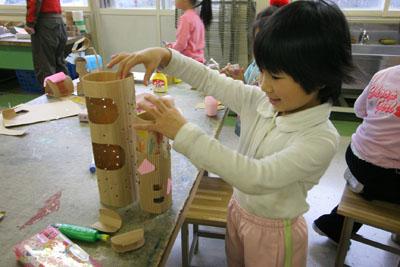 2009年11月11日(水)小さな大工さん_a0062127_180511.jpg