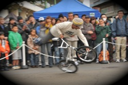 サイクルスポーツフェスタin川崎競輪場VOL4:BMXパフォーマンスショー第2部フラットランド_b0065730_19573185.jpg