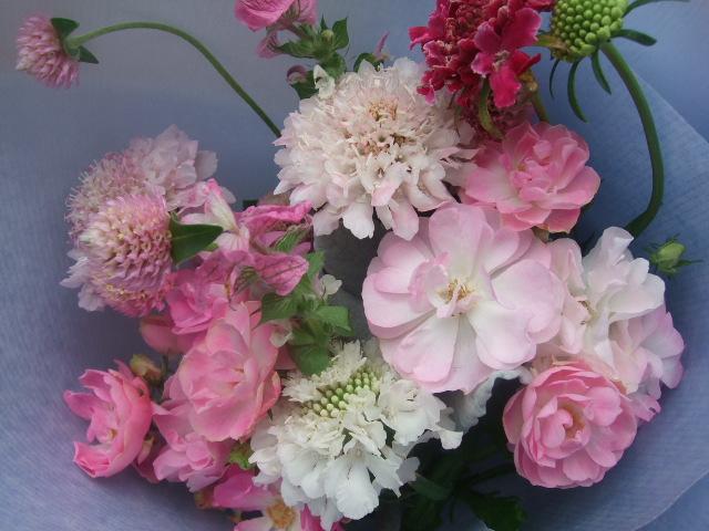 オークリーフ(淡い色の花束)_f0049672_821589.jpg