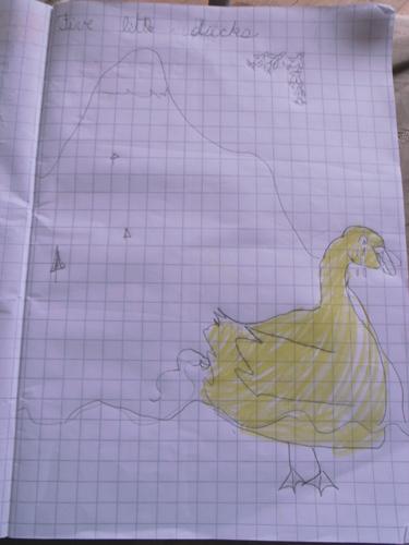 ユキちゃんと英語~Five little Ducks _f0106597_21573493.jpg