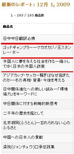 11月のアマゾンベストテン 日本僑報社書籍_d0027795_2339570.jpg