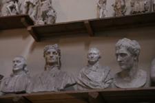 フィレンツェの伝統的な彫刻工房~ストゥーディオ・ロマネッリ_f0106597_18204288.jpg