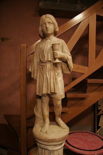 フィレンツェの伝統的な彫刻工房~ストゥーディオ・ロマネッリ_f0106597_18572932.jpg