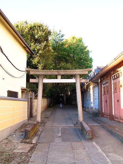 北区田端・谷田川(藍染川)と谷田橋_c0163001_23383590.jpg