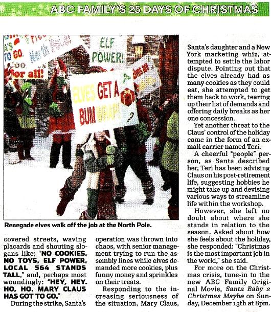 NY地元紙の報じた、思わず微笑んでしまうクリスマス危機のニュース_b0007805_10295443.jpg