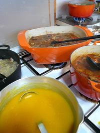 鍋の競演、季節が香る煮込み料理_a0017350_162350.jpg