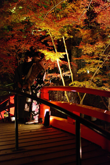 2009紅葉 Ⅸ 北野天満宮ライトアップ_f0152550_21334632.jpg