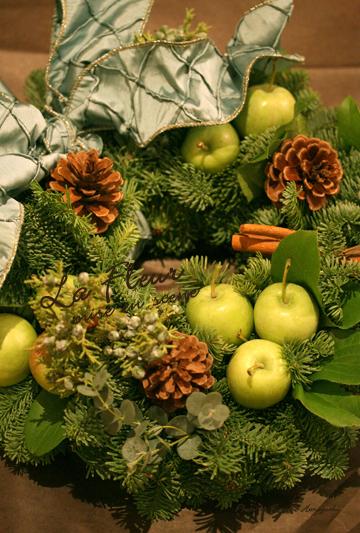 クリスマスリース_f0127281_11525296.jpg