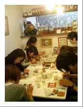 スペインタイル (11月)レッスン~北堀江 アートハウス~_f0149716_2311491.jpg