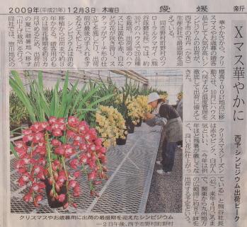 愛媛新聞に掲載されました!_a0118539_2251617.jpg