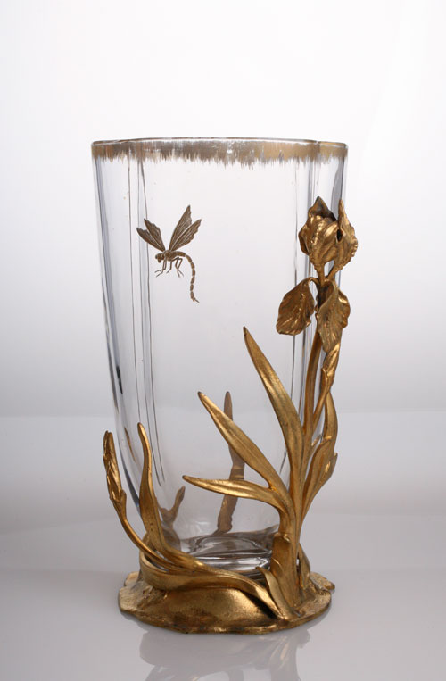 Damon & baccarat Dragonfly vase_c0108595_21501696.jpg