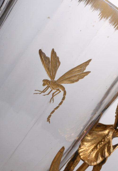 Damon & baccarat Dragonfly vase_c0108595_21511430.jpg