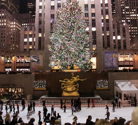 ロックフェラーセンターのクリスマスツリー 2009_b0007805_4435733.jpg