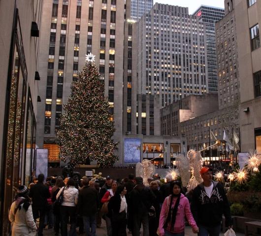 ロックフェラーセンターのクリスマスツリー 2009_b0007805_443888.jpg