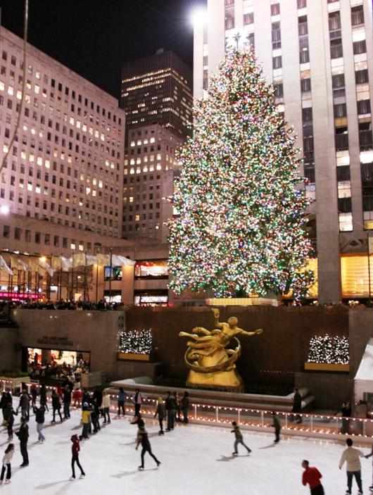 ロックフェラーセンターのクリスマスツリー 2009_b0007805_4441073.jpg