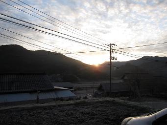 11月29日 古民家民宿 千屋アウトドアハウス_e0136815_2081687.jpg