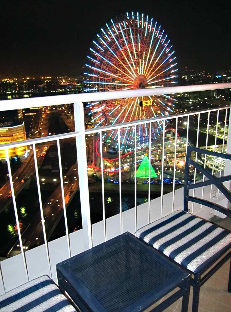 パンパシフィック横浜ベイホテル♡ベイブリッジビュー♡_f0119369_1403787.jpg