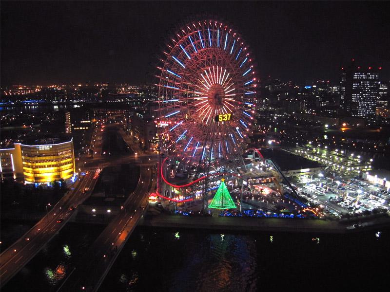 パンパシフィック横浜ベイホテル♡ベイブリッジビュー♡_f0119369_1413327.jpg