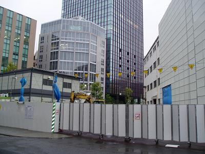 さよなら交通博物館 建物の解体状況(2)_f0030574_22362924.jpg