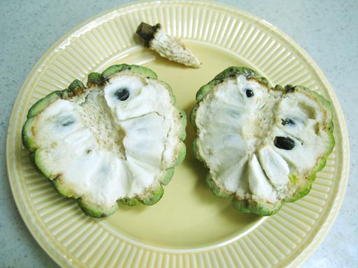 シャカトウの果実