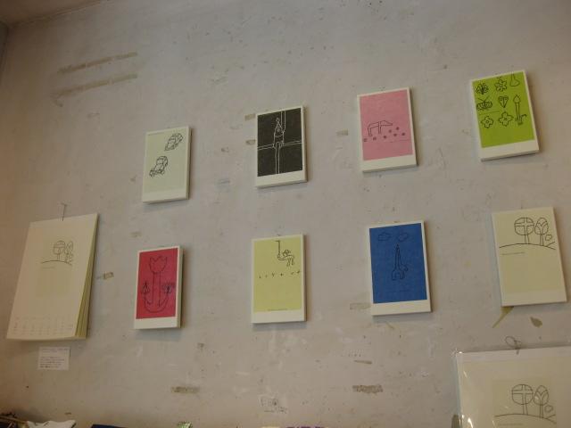 ヤマモトダイゴさんの小さい絵と カレンダー_b0184796_1631117.jpg