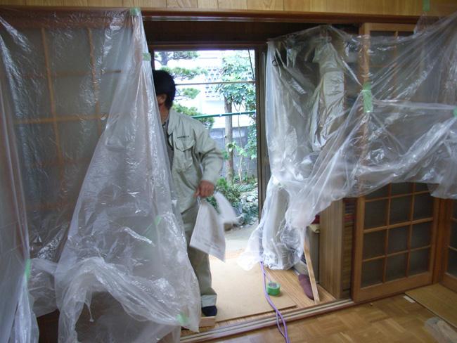 K邸改修工事_b0186200_0313923.jpg