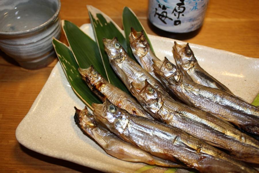 柳葉魚   12月7日_f0113639_15162127.jpg
