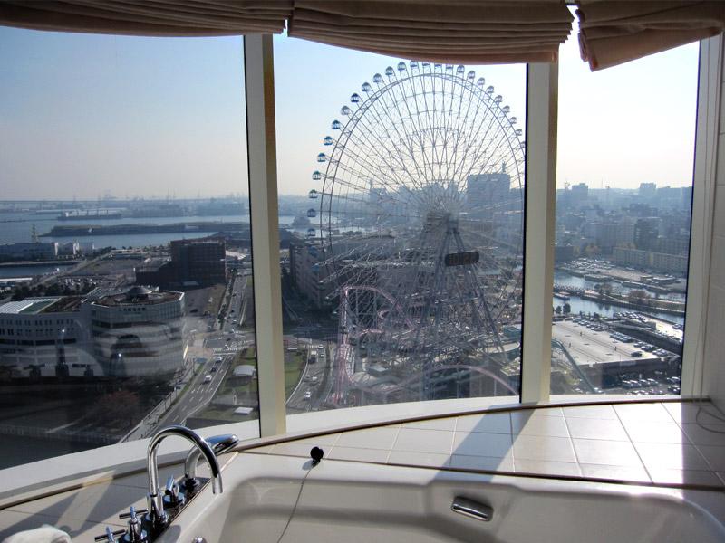 パンパシフィック横浜ベイホテル♡朝の眺め♡_f0119369_1127674.jpg