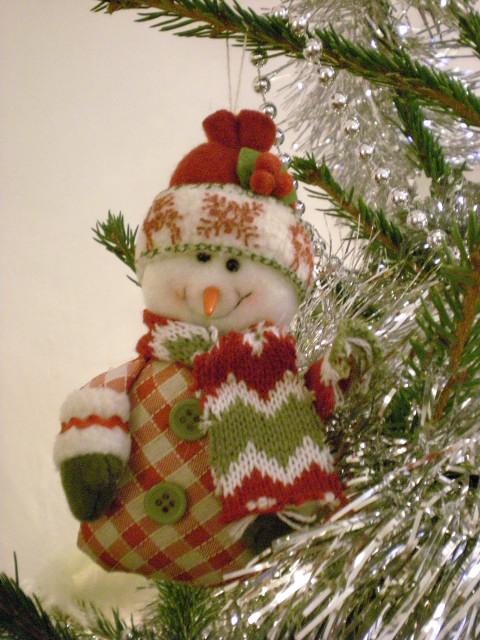 モミの木の匂い---今年の主役はスノーマン_c0179785_2140789.jpg