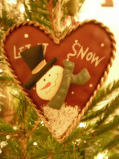 モミの木の匂い---今年の主役はスノーマン_c0179785_22112586.jpg