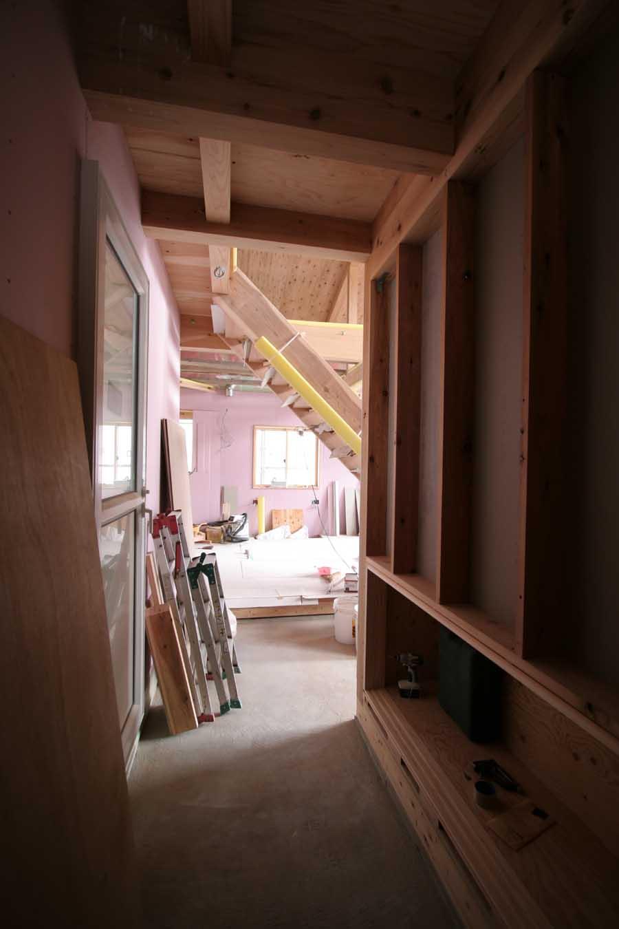 S邸「桜台の家」工事中!_f0150893_1858196.jpg