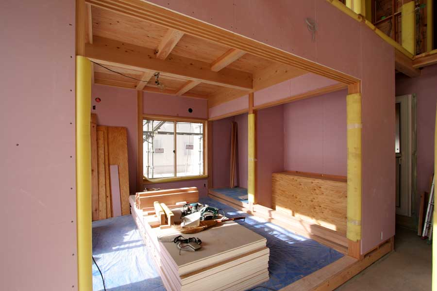 S邸「桜台の家」工事中!_f0150893_18592869.jpg