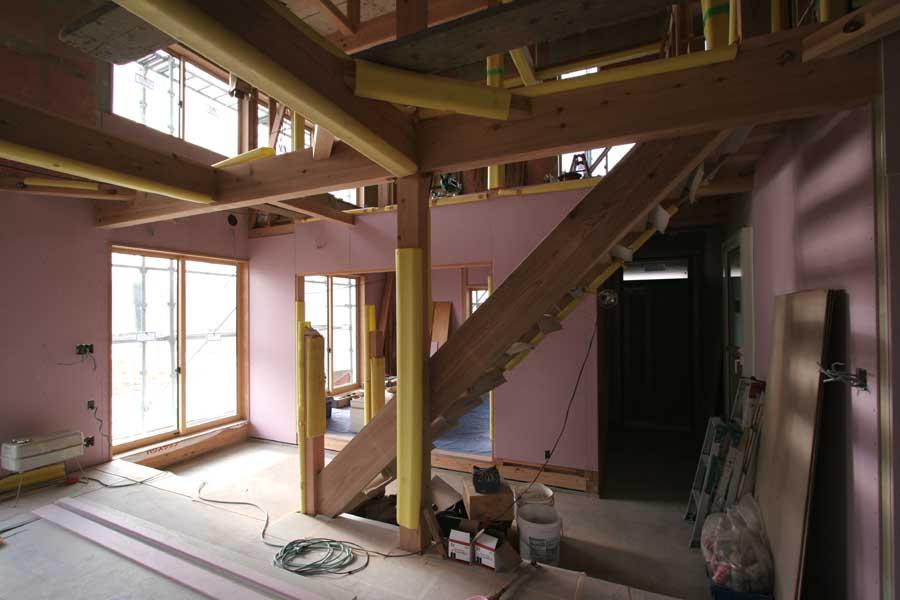 S邸「桜台の家」工事中!_f0150893_191177.jpg