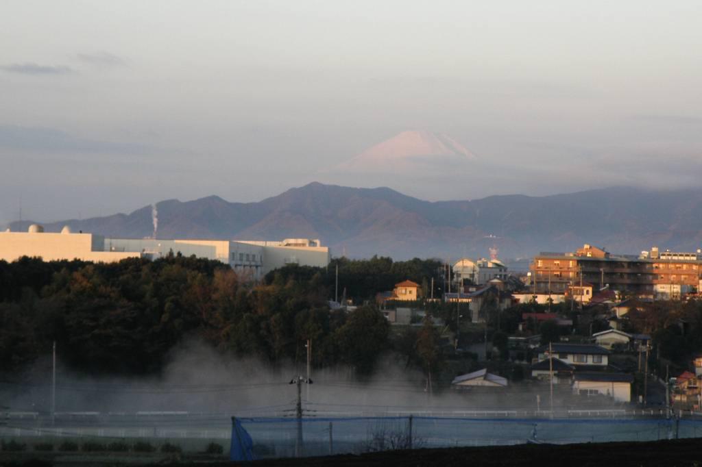 川霧の季節です/重機とカワセミ_b0024798_1153357.jpg
