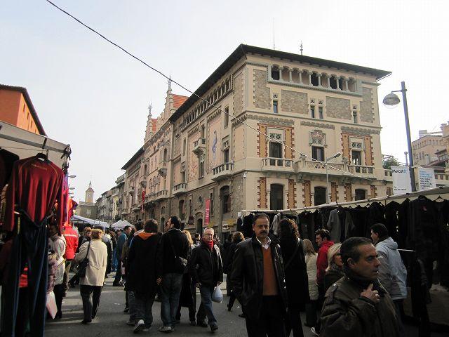 Vicの中世の市 その1  Mercado mediaval en Vic 1_b0064411_74959.jpg