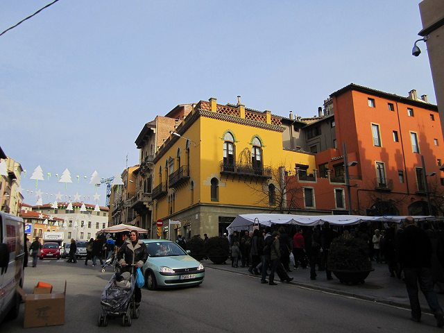 Vicの中世の市 その1  Mercado mediaval en Vic 1_b0064411_750265.jpg
