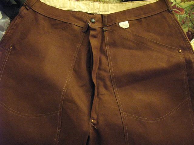 アメリカ仕入れ情報 #17 50'S デッドストック BILTWELL ダック ダブルニー PANTS_c0144020_12252454.jpg