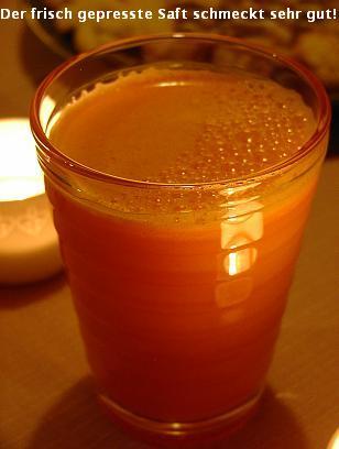 自家製野菜ジュース(追記:ジューサーでお餅つき!)_d0144726_4463648.jpg