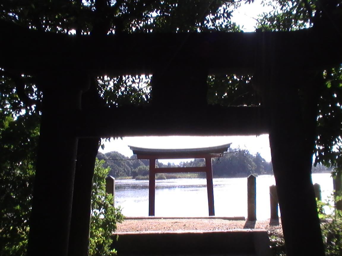八幡巡礼 〜薦神社・三角池〜_e0074793_12131956.jpg