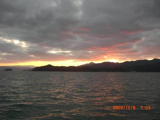 小浜湾の朝焼け_e0150006_20205748.jpg