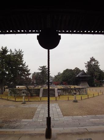 西大寺東塔の基壇_c0195909_17132626.jpg