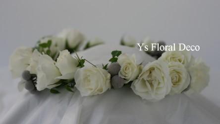 子供の花冠 白とシルバー_b0113510_22523626.jpg