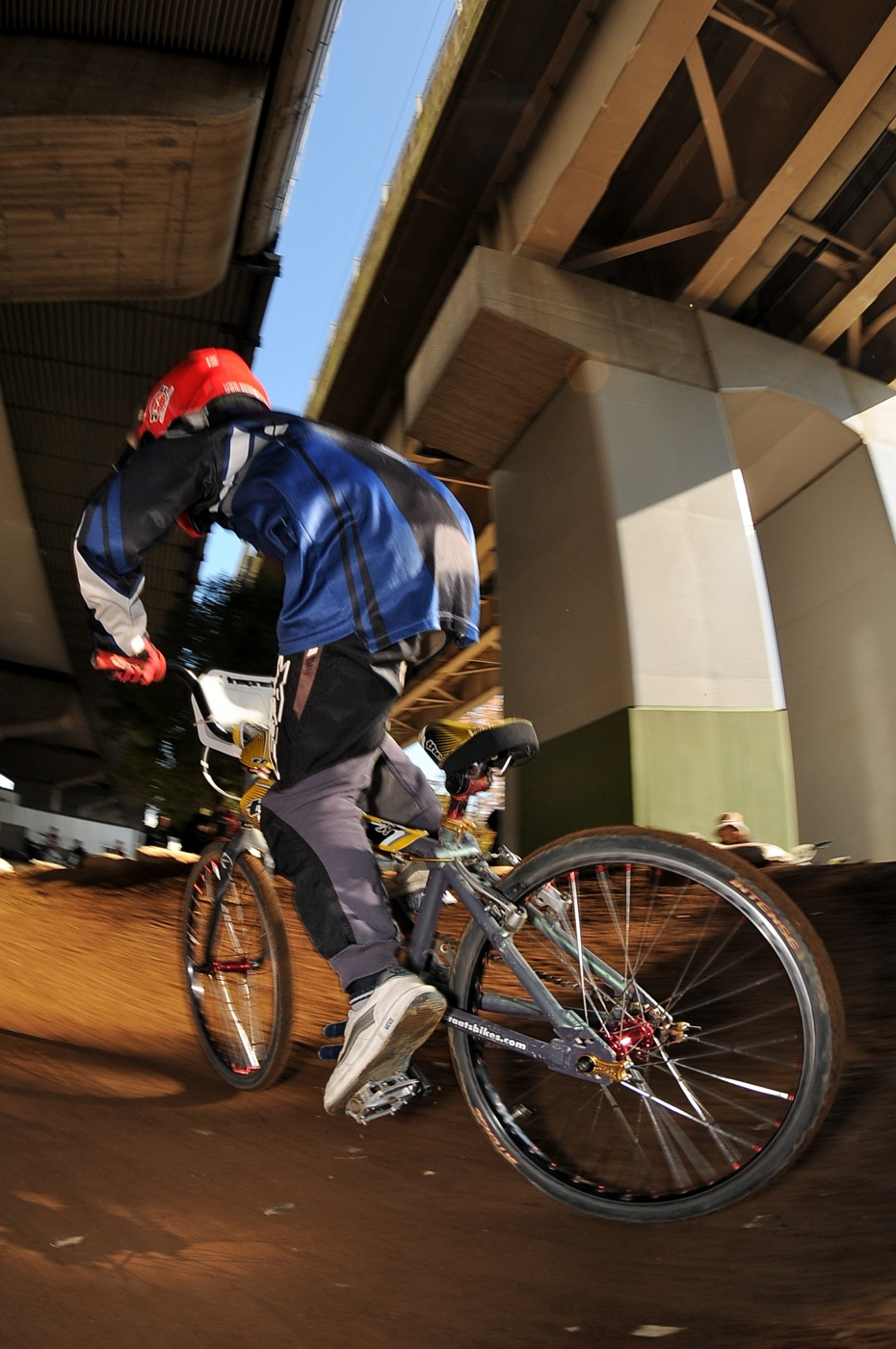 2009JOSF川口ゴリラ公園12月定期戦VOL9:コース外の風景..._b0065730_20503640.jpg