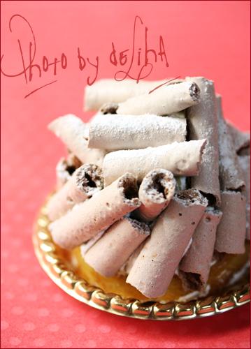 お気に入りの『バードゥショコラ』のケーキ☆_c0131054_165228.jpg