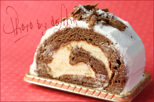 お気に入りの『バードゥショコラ』のケーキ☆_c0131054_1661026.jpg